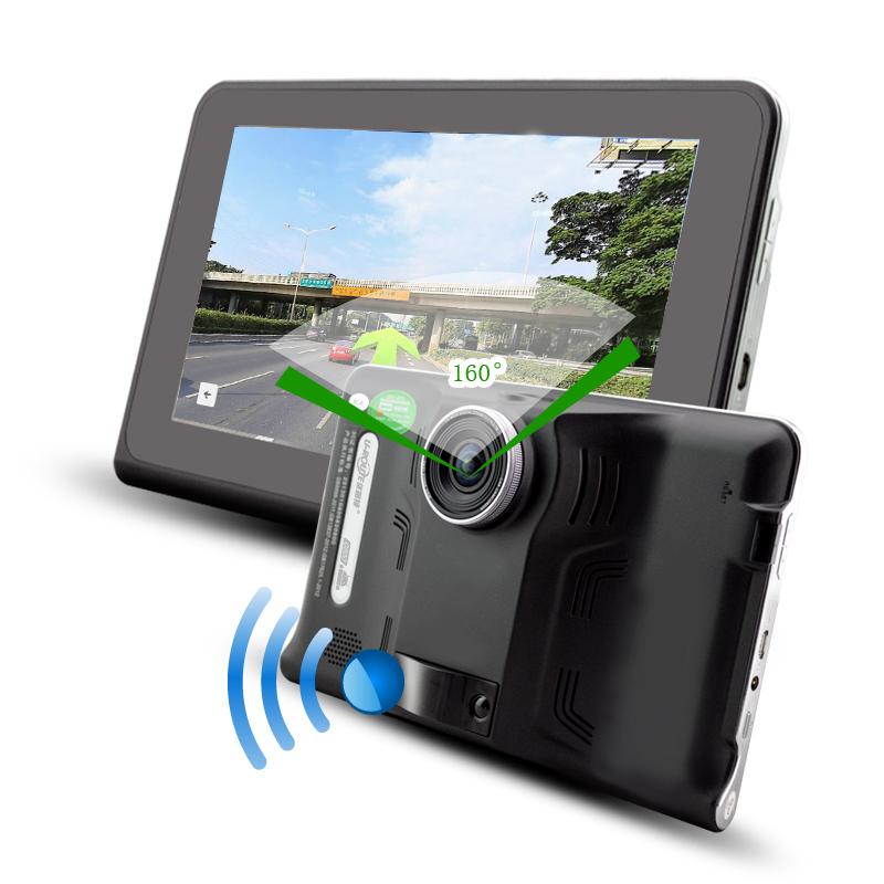 7 inch car dvr gps radar detector navigation android. Black Bedroom Furniture Sets. Home Design Ideas