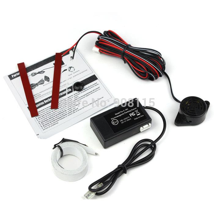 Auto Electromagnetic Sensors Car Parking Sensor Reverse Backup Radar System Kits