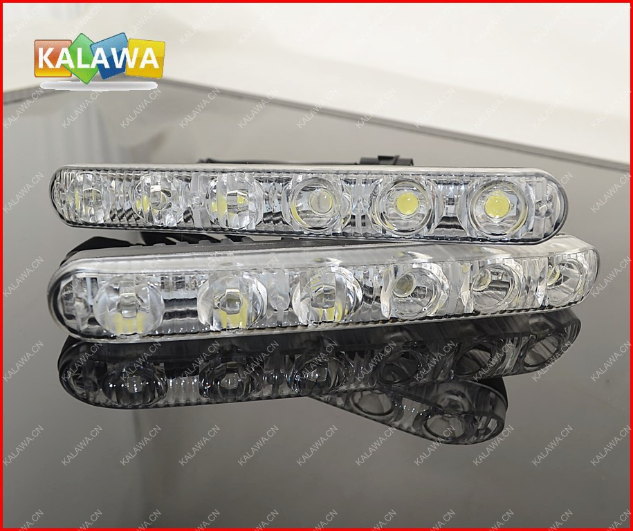One Pair High And Low Beam 18w Aluminum LED Daytime