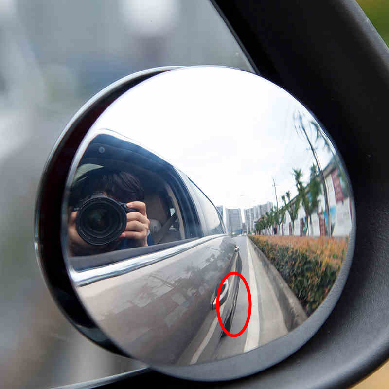 2016 new 360 degree car mirror wide angle round convex for Mirror 40cm wide